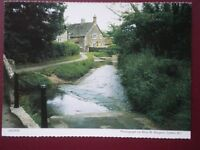 POSTCARD WILTSHIRE LACOCK - VIEW ALONG THE STREAM