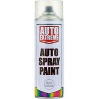 6 x 400ml Clear Lacquer Gloss Spray Paint Aerosol Can Auto Extreme Car Van Bike