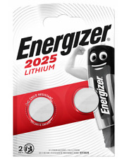 2x ENERGIZER CR2025 3V Lithium Coin Cell Battery 2025 button DL2025. 093