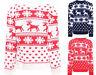 Kids Girls Boys Fairisle Snowflake Aztez XMAS Christmas Knitted Jumper 3-13 Yrs