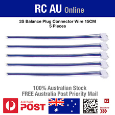 3S JST-XH Balance Plug Connector Wire - 15cm - 5pc - Aust Post Priority Shipping
