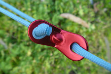 1x GLOW IN THE DARK Guy Rope - Ideal for Camping, 4WD, Caravan, Market Stall
