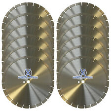 12PCK 14-Inch General Purpose Segmented Diamond Saw Blade for Concrete & Masonry