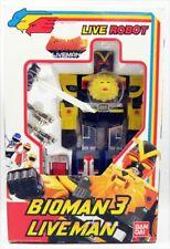 Bioman 3 Liveman - Live Robot ST - Bandai France