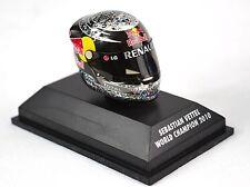 Sebastian Vettel casque champion du monde 2010 Abu Dhabi Minichamps 381 100105 1:8