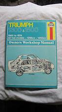 Haynes Manual (054) Triumph 1300 & 1500  1965 to 1974