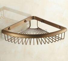 Antique Brass Shower Caddy Wire Basket Storage Bathroom Accessories tba510
