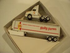 HOLLY FARMS POULTRY TRACTOR REEFER TRAILER DIECAST WINROSS TRUCK