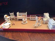 Miniature doll house furniture set