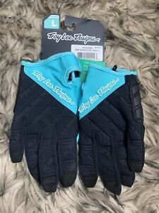 Troy Lee Designs Wmn Ruckus Glove - Aqua LG Size L