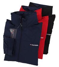Tommy Hilfiger Mens Yatch Rain Wind Full Zip Logo Hooded...