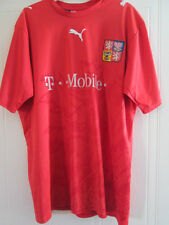 Czech Republic 2006-2008 Home Football Shirt Size large mans /39304