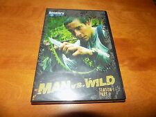 MAN VS. WILD SEASON 1 PART 1 TV Surival Series DISCOVERY CHANNEL DVD SET NEW