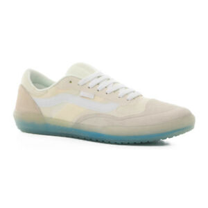 """Vans Off The Wall """"Ave Pro"""" Sneakers (Marshmallow/White) Skate Shoes"""