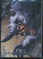 2018 Marvel Masterpieces Trading Card #10 Rhino /1999