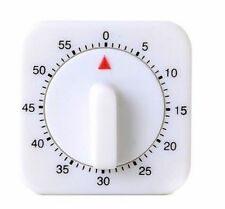 1Hr/60Min Mechanical Timer Count Down Counter Alarm Kitchen Cooking Tool STL*