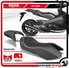 Shad Sella Confort Nera con Cuciture Bianche per Honda Integra 750 2014 >
