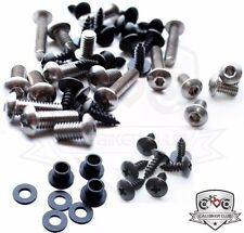 Fairing Bolt Kit Body Screws Washers Stainless for Kawasaki Ninja 600R1988-1997