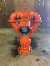 Elkhart Brass 292 6 Fire Monitor 4 Id 8 Bolt Flange Manual Adjust Nozzle