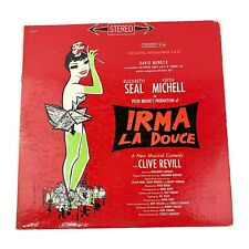 Vtg Irma La Douce - Original Broadway Cast Recording Columbia LP Vinyl Record