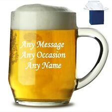 Personalised Engraved Pint Tankard - Engraving for Any Occasion