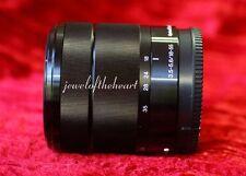 Sony SEL E Mount 18-55mm f/3.5-5.6 OSS Lens for NEX 3 5T 6 7 A5100 A6000 - Black