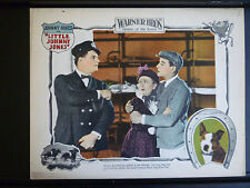 1923 LITTLE JOHNNY JONES - LOBBY CARD - SILENT HORSERACING GAMBLING COMEDY