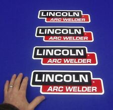 4 Lot OEM Hood Decal Fits Lincoln Arc Welder Sa 200 250 Sae 300 400 Pipeline