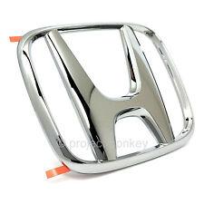"""OEM Honda 02-09 S2000 Rear Trunk Chrome """"H"""" Emblem Badge AP1 AP2 Genuine Part"""
