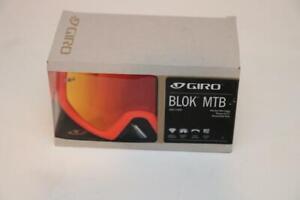 New Giro Blok MTB Goggle Large Scarlet Verm Lens Anti Fog Expansion View