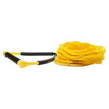 2020 Hyperlite CG Handle with 60ft Poly-E Wakeboard Tow Rope - Yellow