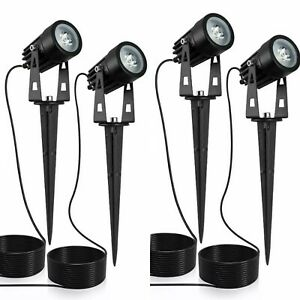 YUNLIGHTS 4PCS LED Waterproof Landscape Lamp Solar Lights with remote control