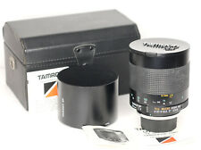 Tamron SP 500mm f8 55BB  Mirror Lens with a Contax/Yashica  Mount (4553BL)