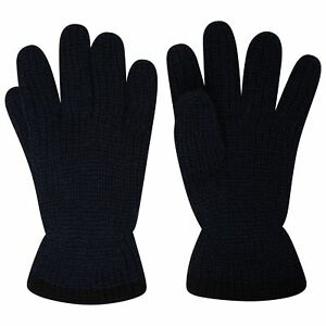 Mens Pro Climate Fishermans Chunky Knit Gloves with Genuine Thinsulate Lining