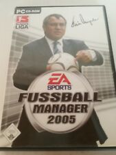 FIFA FUSSBALL MANAGER 2005 - PC SPIEL - EA SPORTS