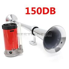 150DB Super Loud Single Trumpet Kit Air Horn Compressor Truck Boat VAN Train