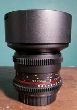 Rokinon 14mm Cine Lens EF Mount