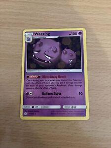 Pokemon Card Weezing 77/236 Inc Free Card Deal
