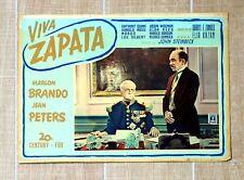 VIVA ZAPATA fotobusta poster Kazan Mexico Revolution President Porfirio Diaz T73