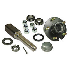 Trailer Hub and 1-1/16 Inch Straight Spindle Assembly (SQ-2200545)