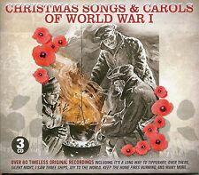 CHRISTMAS SONGS & CAROLS OF WORLD WAR I NEW 3 CD BOXSET WW1 64 GREAT WAR SONGS