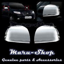Chrome Side Rear View Mirror Cover Trim for 07~12 Hyundai Santa Fe