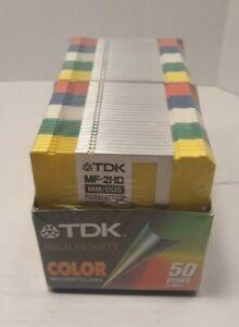 TDK MF-2HD 1.44MB 3.5in. Floppy Disk (50 disks sealed package)