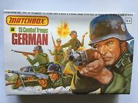 'EMPTY BOX ONLY' MATCHBOX SOLDIERS 1/32 SCALE WW2 GERMAN ARMY