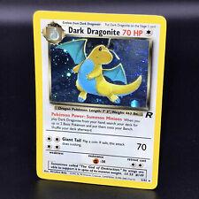 Dark Dragonite Holo Team Rocket 5/82 WoTC Rare Pokemon Card 2000 Near Mint NM