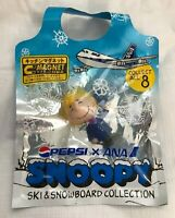Pepsi ANA Snoopy Ski & Snowboard Collection Magnet Sally Cabin Attendant 2005