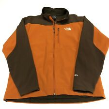 The North Face Jacket Mens Adult XL Orange Brown Zip Up TNF Outdoors