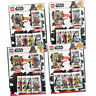 Lego Star Wars - Series 2 Trading Cards - all 4 Various Multipacks