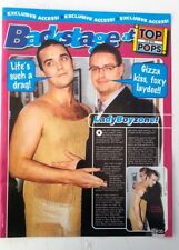 ROBBIE WILLIAMS and Keith (Boyzone) magazine PHOTO/Poster/clipping 11x8 inches