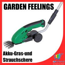 AKKU Rasen & Strauchschere Teleskopstiel einstellbar Gras Hecke Schere f. Garten